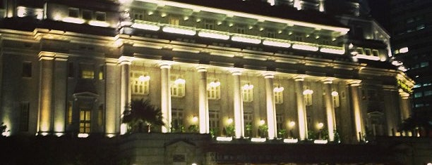 The Fullerton Hotel is one of Singapore.