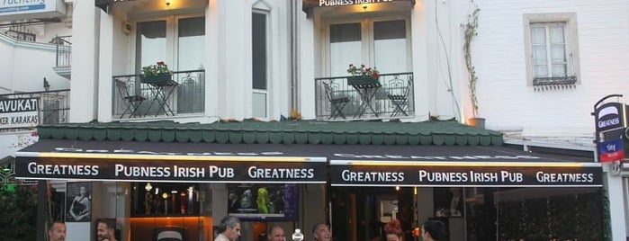 PubNESS irish pub Bodrum is one of Şeyda hanım.