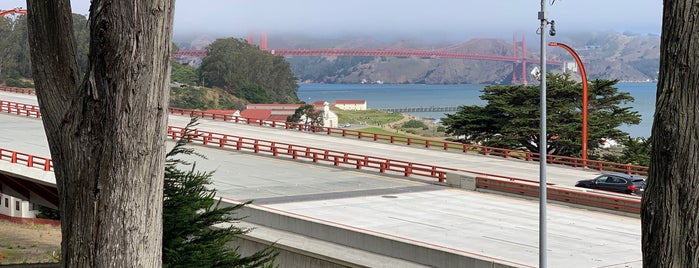 Park Presidio Trail is one of Wendy's SF Visit.