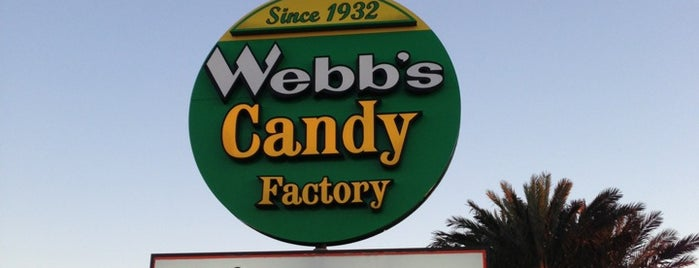 Webb's Candy Factory is one of Orte, die Jack gefallen.