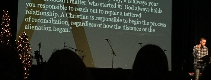 The Austin Stone Community Church - AHS is one of Tempat yang Disukai Jessica.