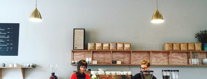 Elm Coffee Roasters is one of B's Seattle.