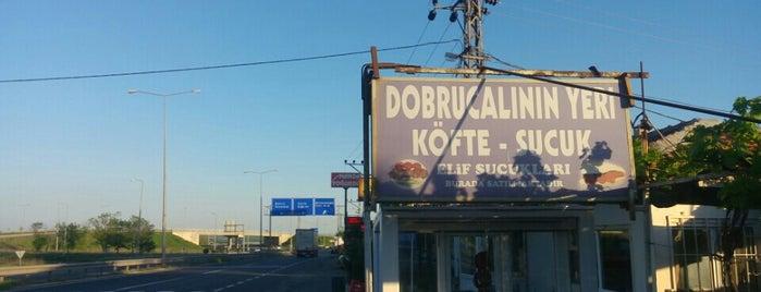 Dobrucalı Sucuk & Köfte Salonu is one of TEKİRDAĞ LEZZETLERİ.