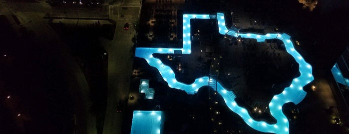 Marriott Marquis Pool Deck is one of Houston Trip.