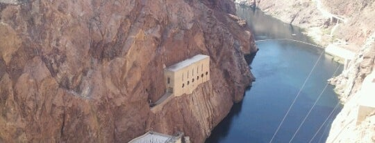 Hoover Dam is one of Alicia's Top 200 Places Conquered & <3.