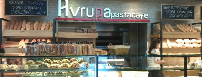 Avrupa Cafe Restaurant is one of Orte, die H gefallen.