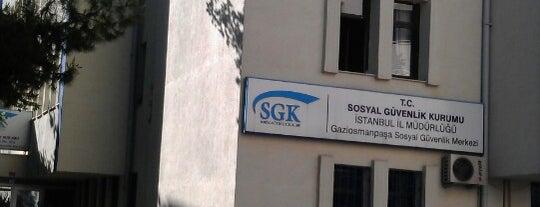 SGK Gaziosmanpaşa Sosyal Güvenlik Merkezi is one of Tempat yang Disukai Tuğba.