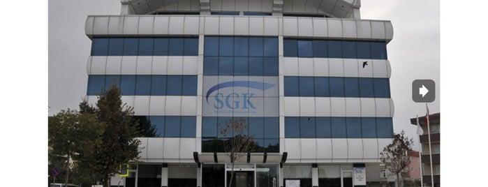SGK is one of Locais curtidos por Mustafa özgür.