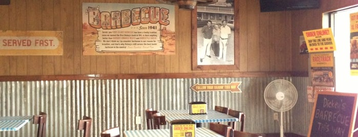 Dickey's Barbecue Pit is one of Boca faves.