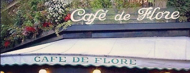 Café de Flore is one of Europe.