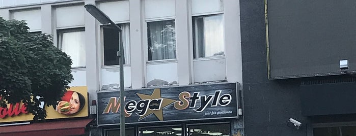 Friseur Mega Style is one of Lieux qui ont plu à Jens.