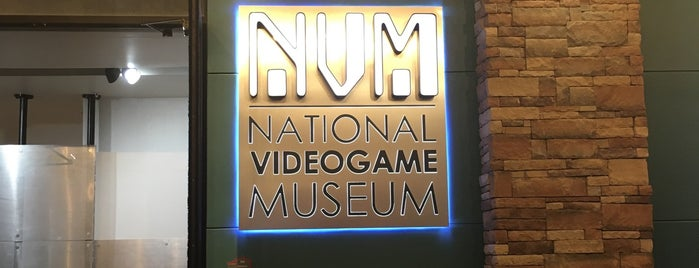 National Videogame Museum is one of Take Bri.
