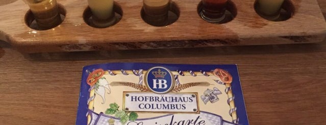 Hofbräuhaus Columbus is one of Locais curtidos por Melissa.