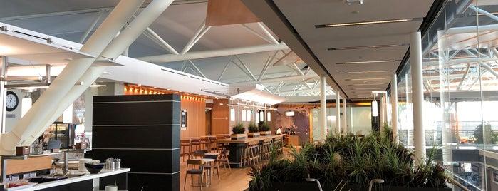 "Aspire Lounge (""D"" Gates — International) is one of 空港 ラウンジ."