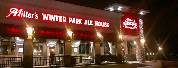 Miller's Ale House - Winter Park Village is one of Orte, die Annette gefallen.