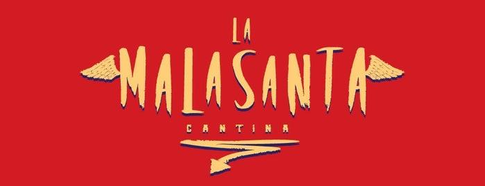 La MalaSanta Cantina is one of Restaurantes, bares y cafés.