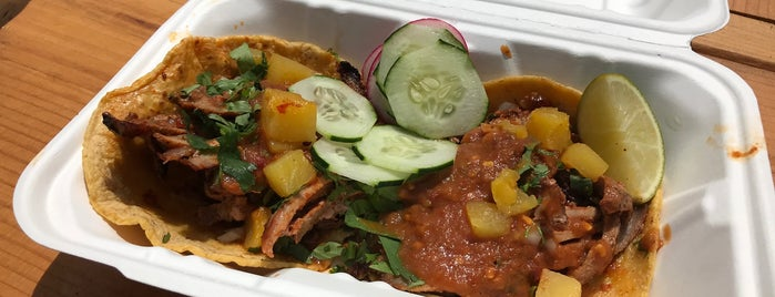 Taqueria Al Pastor is one of North Brooklyn Food.