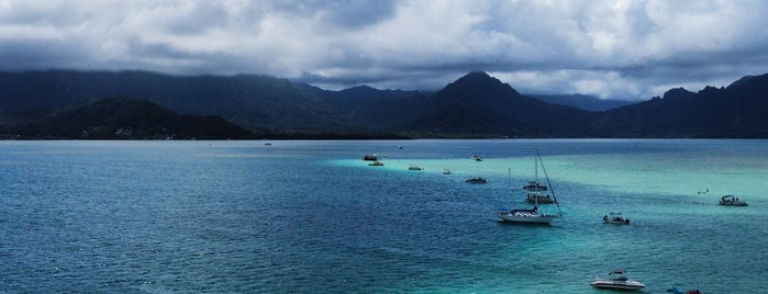 Kaneohe Bay Sandbar is one of All-time favorites in Hawaii.