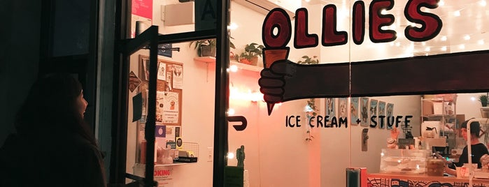 Ollie's Ice Cream is one of Sweets.