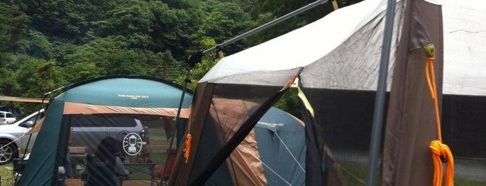 緑の休暇村 青根キャンプ場 is one of 行きたいキャンプ場.