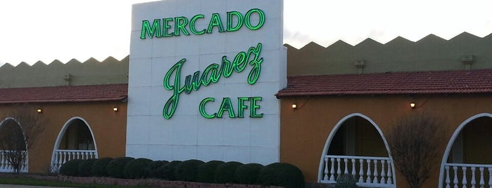 Mercado Juarez is one of Places to Try.