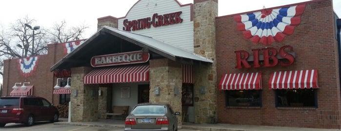 Spring Creek Barbeque is one of สถานที่ที่บันทึกไว้ของ Kevin.