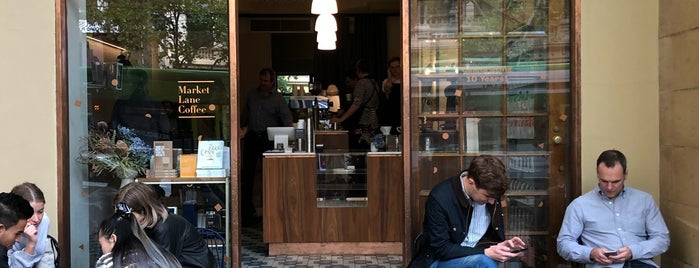 Market Lane Coffee is one of Melbs.