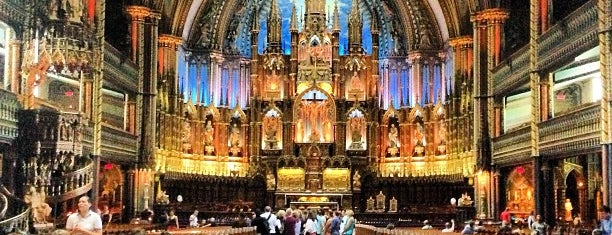 Basilique Notre-Dame is one of Montreal 🇨🇦.