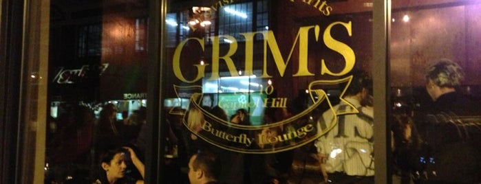 Grim's Provisions & Spirits is one of Seattle Bars and Clubs.