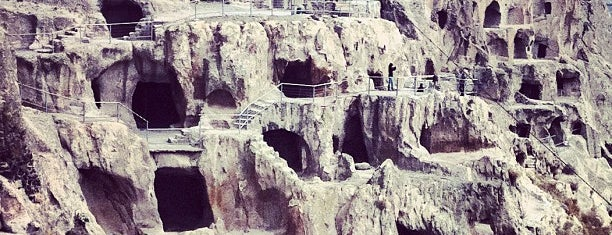 Vardzia Cave Monastery | ვარძიის სამონასტრო კომპლექსი is one of Tempat yang Disimpan Galina.