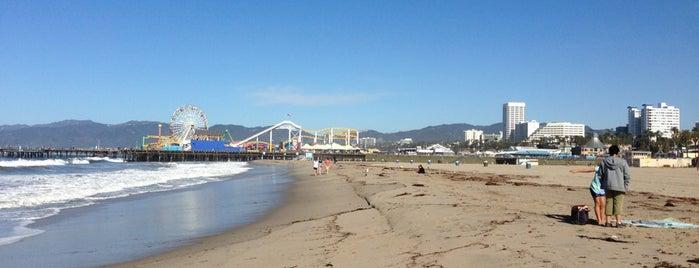 Santa Monica Beach, Tower 16 is one of USA.