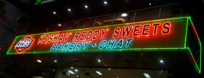 Keshav Reddy Sweet Shop is one of Idegenben.