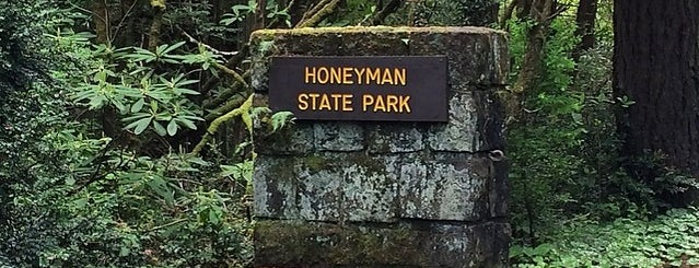 Jessie M. Honeyman Memorial State Park is one of Locais curtidos por John.