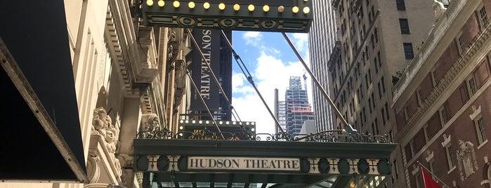Hudson Theatre is one of Tempat yang Disukai Amanda.