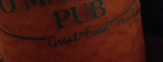 O'Malley's Pub is one of Locais curtidos por Mary.