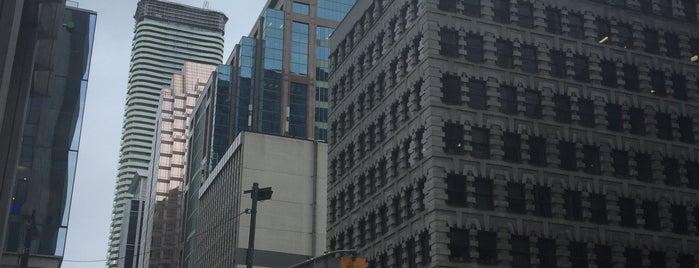 King St & Yonge is one of Toronto - Neighborhoods & Districts.