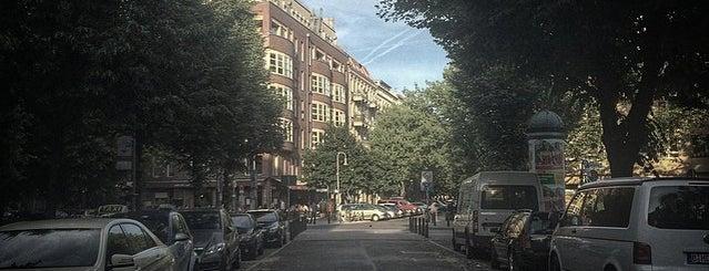 Kollwitzkiez is one of Berlin Kieze.