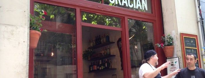 Bodega Gracián is one of Comer.