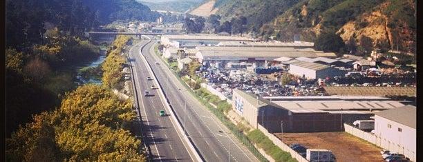 Autopista Troncal Sur is one of V región Cordillera Tips.
