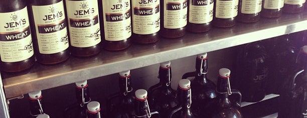 Jem's Beer Factory is one of Orte, die Ron gefallen.