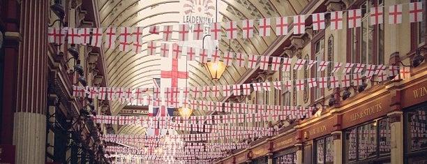 Leadenhall Market is one of United Kingdom.