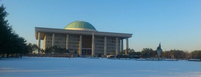 National Assembly is one of Seoul.