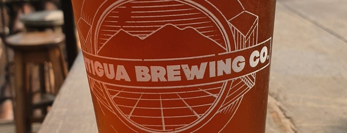 Antigua Brewing Company is one of Guatemala.