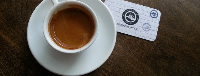Frisson Espresso is one of coffee nyc.