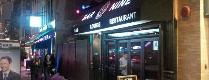 Bar Nine is one of NYC Drinkeries.