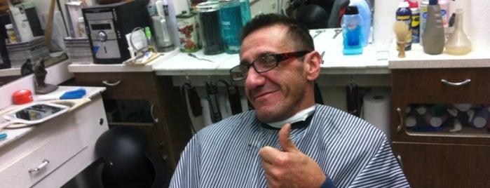 Louie and Joe's Barber Shop is one of Tempat yang Disukai Steve.