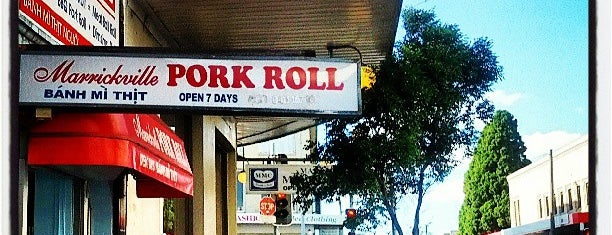 Marrickville Pork Roll is one of Sydney.