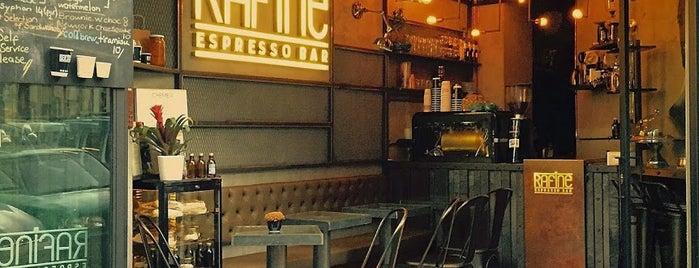 Rafine Espresso Bar is one of İstanbul'da kahve molası...