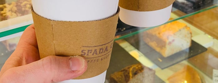 Spada Coffee is one of Istanbul.