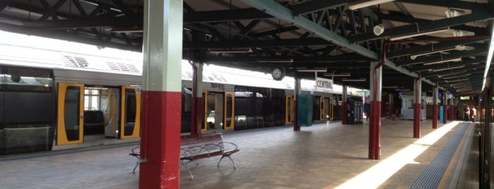 Platforms 12 & 13 is one of Sydney Train Stations Watchlist.